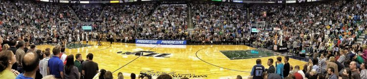 Utah Jazz game crowd