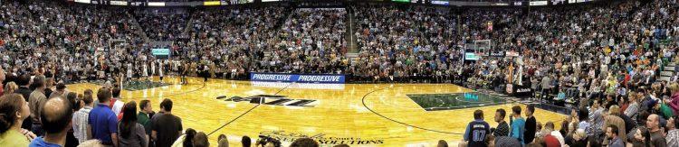 Utah Jazz game crowd