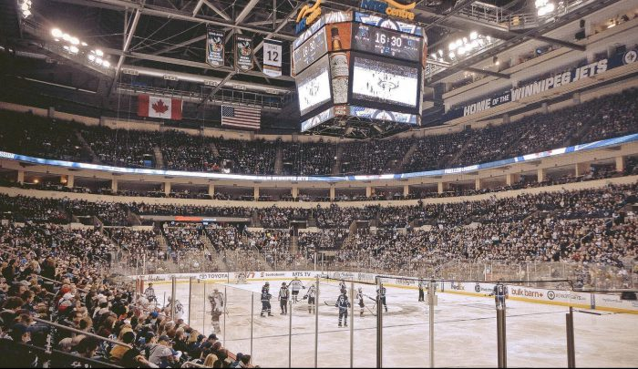Winnipeg Jets vs Colorado Avalanche game