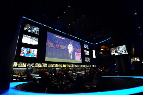 Real Bar Sports Grill large TVs Toronto Maple Leafs