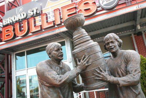 Stanley Cup Statue Philadelphia 76ers