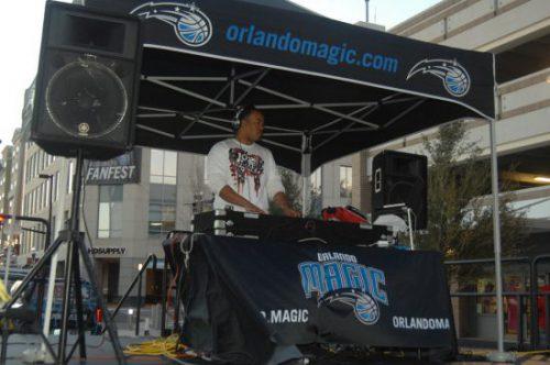 Orlando Magic fan fest