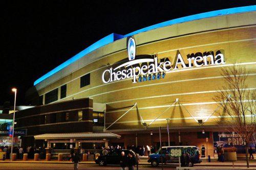 Chesapeake Energy Arena outside