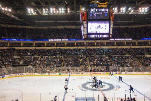MTS Centre Winnipeg Jets