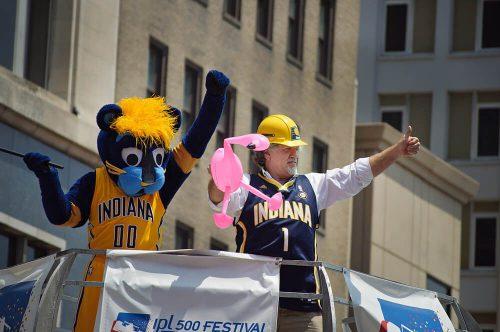 Indiana Pacers Boomer mascot