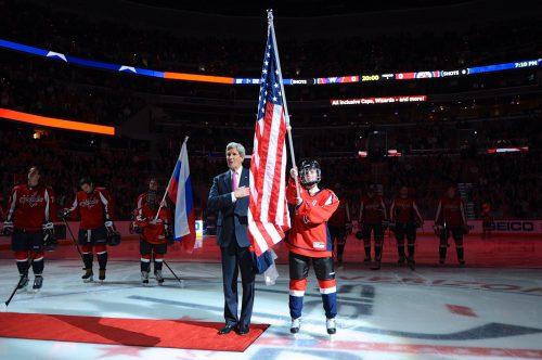 National Anthem John Kennedy Washington Capitals