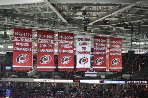 Carolina Hurricanes banners