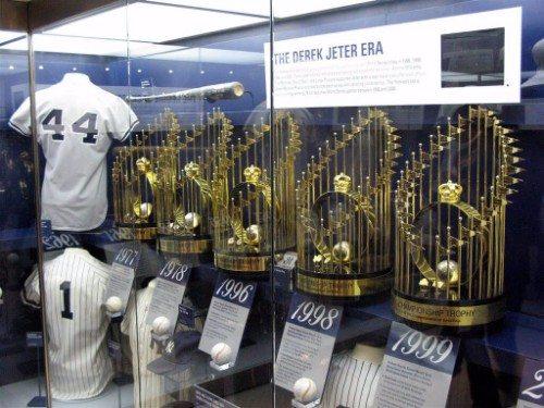 Yankee Stadium Trophies