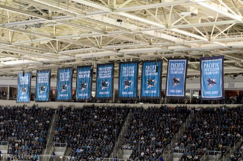 San Jose Sharks banners