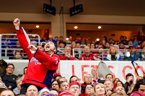 Fan of the game Washington Capitals Lets go Caps