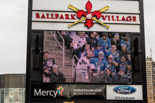 Ballpark Village St Louis Blues