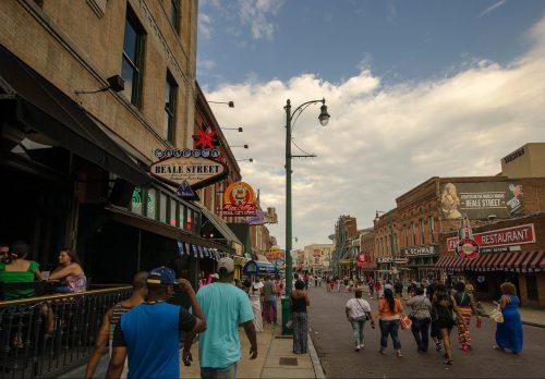Memphis Grizzlies Beale Street