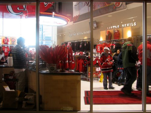 New Jersey Devils Team Store at Prudential Center