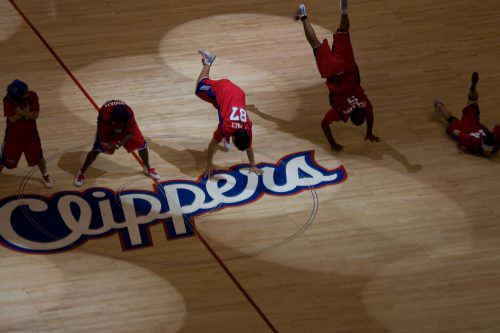 Los Angeles Clippers dancers