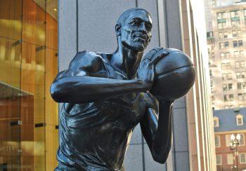 Boston Celtics Bill Russell statue