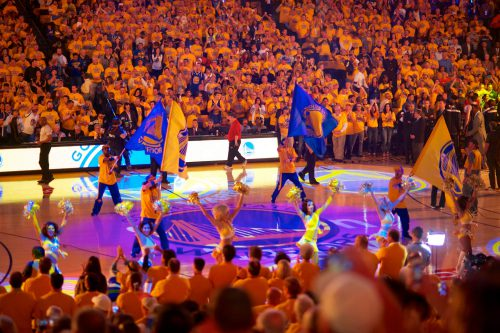 Golden State Warriors Oracle Arena show