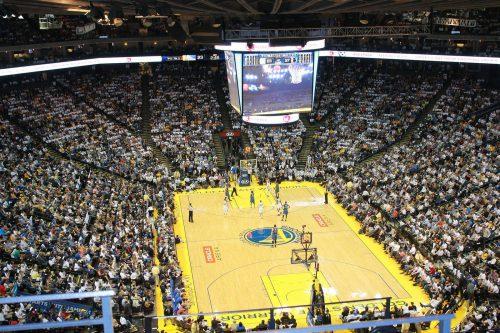 Golden State Warriors basketball game