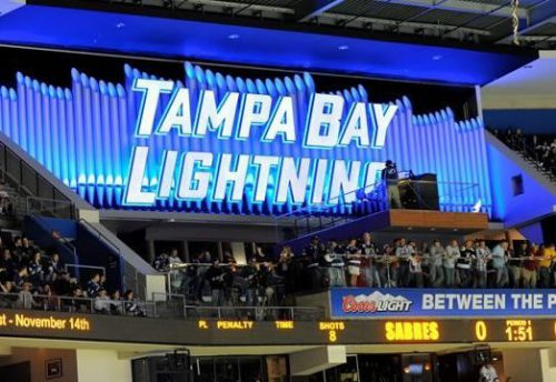 Tampa Bay Lightning Between the Pipes