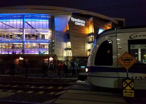 Charlotte Hornets Spectrum Center stadium