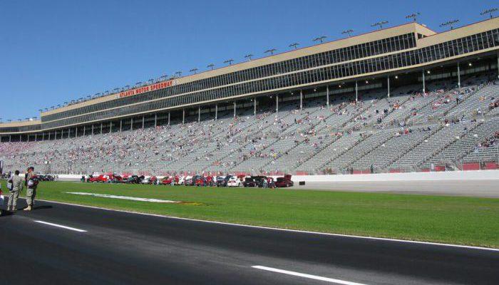 Atlanta Motor Speedway Pressbox