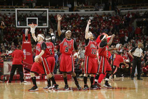 Chicago Bulls basketball players