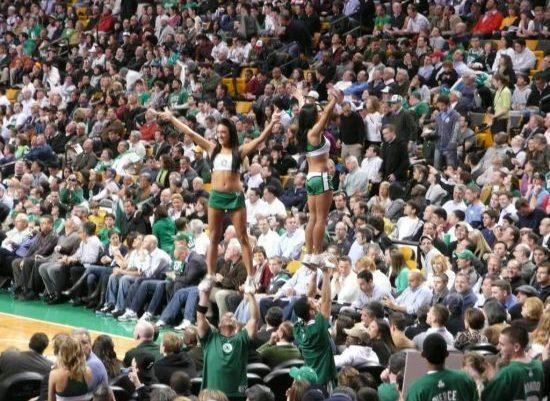 Boston Celtics cheerleaders