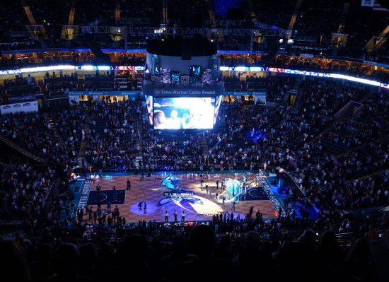 Charlotte Hornets basketball game