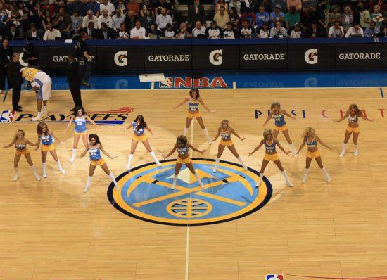 Denver Nuggets dancers