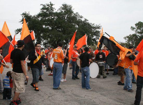 Houston Dynamo fans fan club