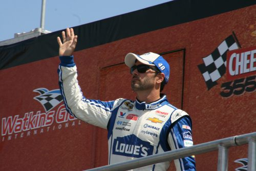 Jimmie Johnson 2016 winner