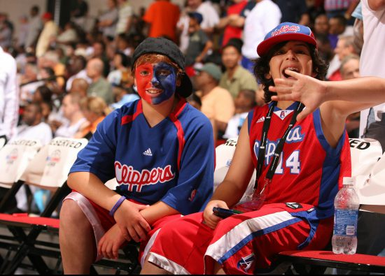 Los Angeles Clippers fans NBA Summer League