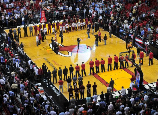 National Anthem Miami Heat