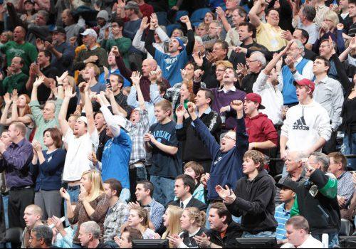 Minnesota Timberwolves fans