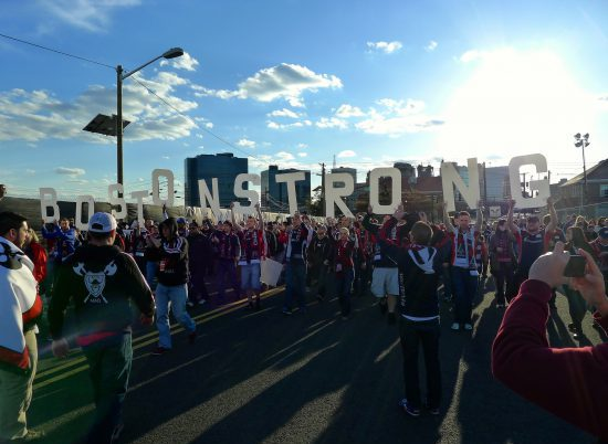 New England Revolution Tailgate March