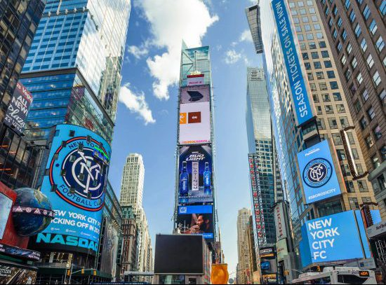 NYCFC Time Square
