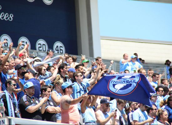 NYFC vs Philadelphia Union soccer Yankee Stadium