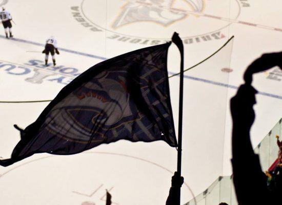 Nashville Predators flag