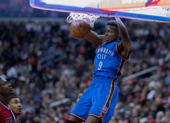 Oklahoma City Thunder player basketball
