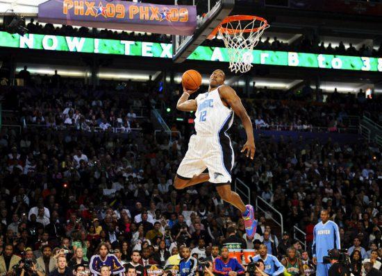 Orlando Magic basketball player Dwight Howard