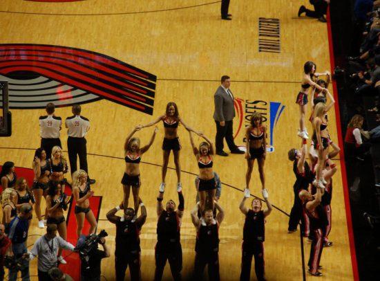 Portland Trail Blazers dancers