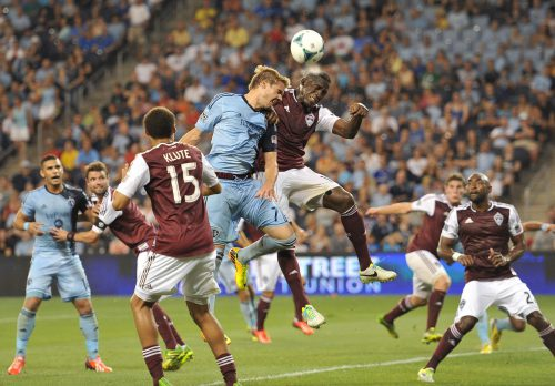 Rapids Sporting KC Rivalry soccer game
