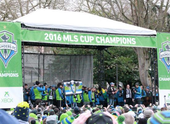 Seattle Sounders Tailgate Champions