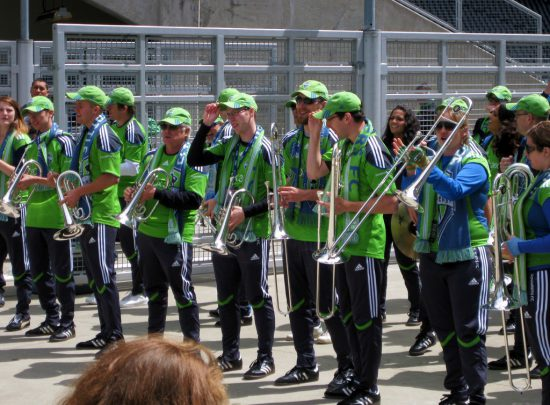 Seattle Sounders Marching Band