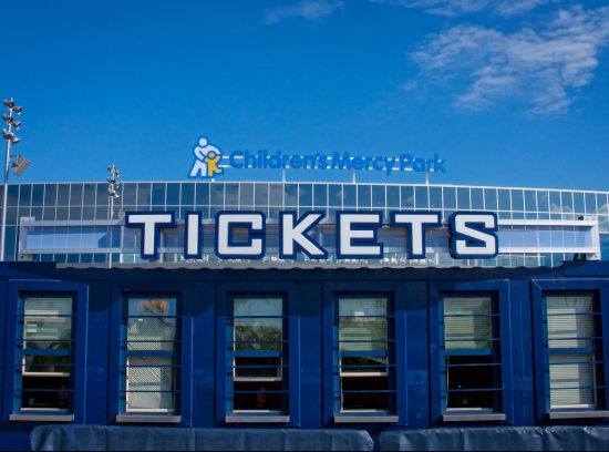 Sporting KC Ticket Booth