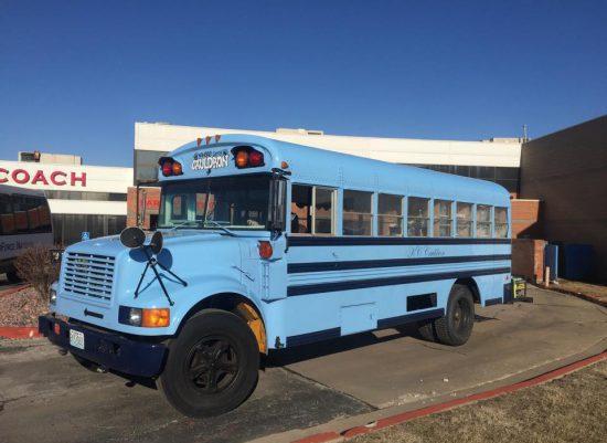Sporting KC Tailgating Bus