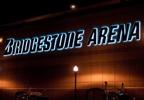 Bridgestone Arena Nashville Predators