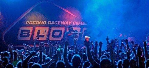 Pocono Raceway Block Party