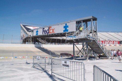 Dover International Speedway Monster Bridge