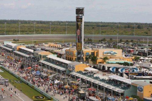 Homestead-Miami Speedway Pit