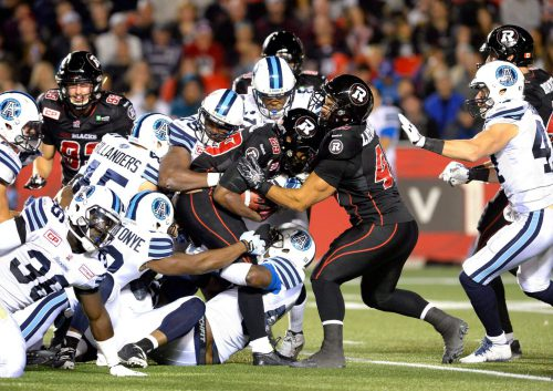 Redblacks vs Argonauts